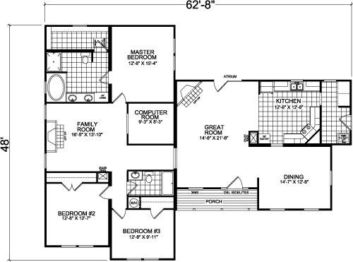 Champion Mobile Homes Floor Plans Factory
