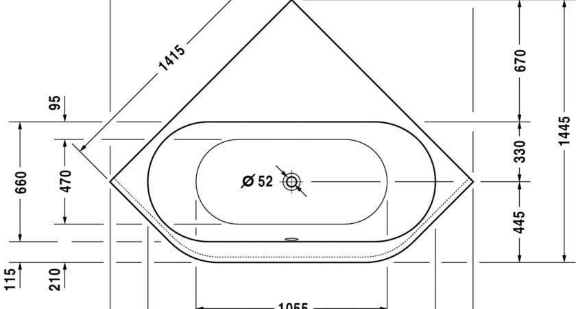 Charming Corner Tub Measurements Ideas Bathtub