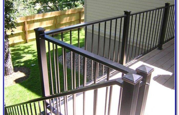 Cheap Deck Railing Ideas Decks Home Decorating