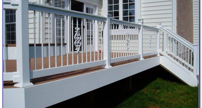 Cheap Easy Deck Railing Ideas Decks Home