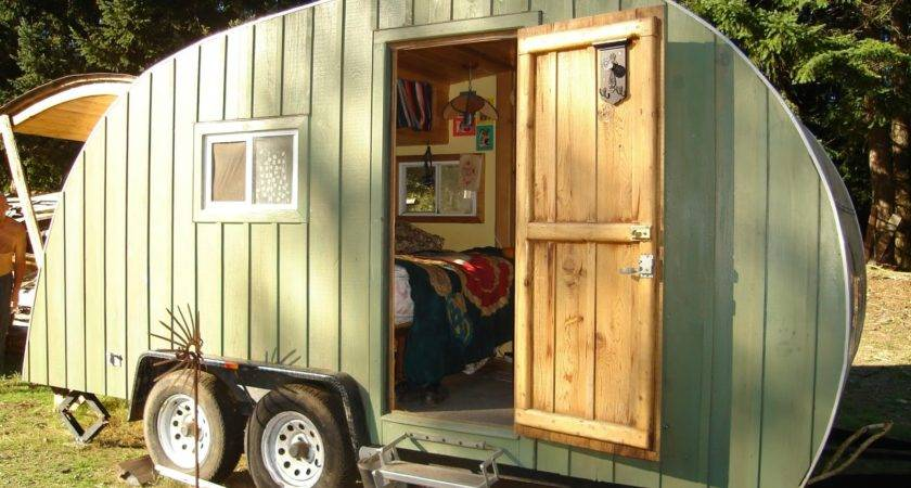 Chemical House Trailers Tiny Homes Wheels