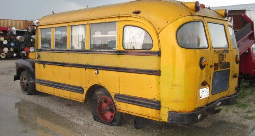 Chevrolet School Bus Camper Promotion Vehicle