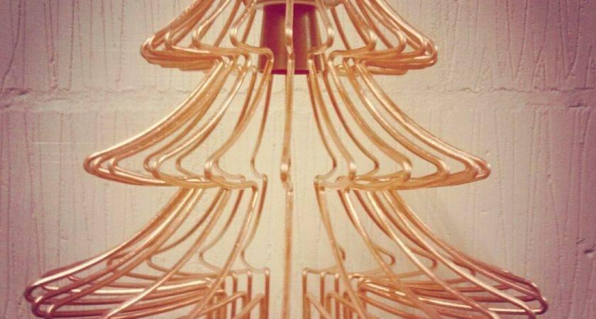 Christmas Tree Wire Frame Light