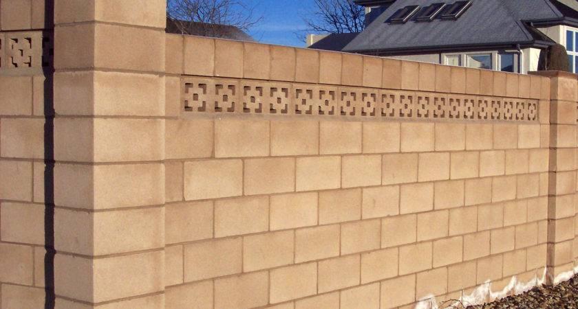 Cinder Block Wall Design Home Ideas