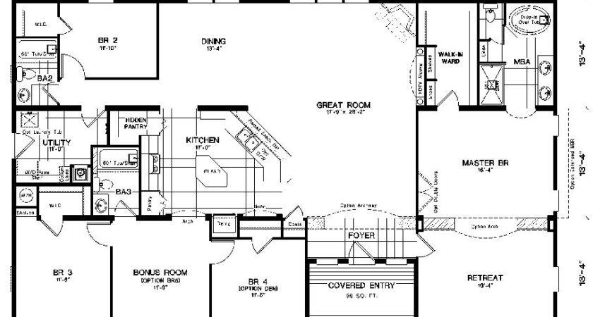 Clayton Homes Floor Plans Home Plan