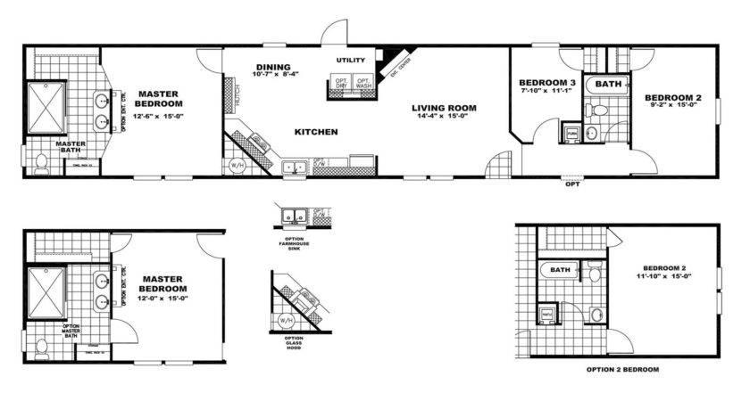 Clayton Mobile Home Floor Plans