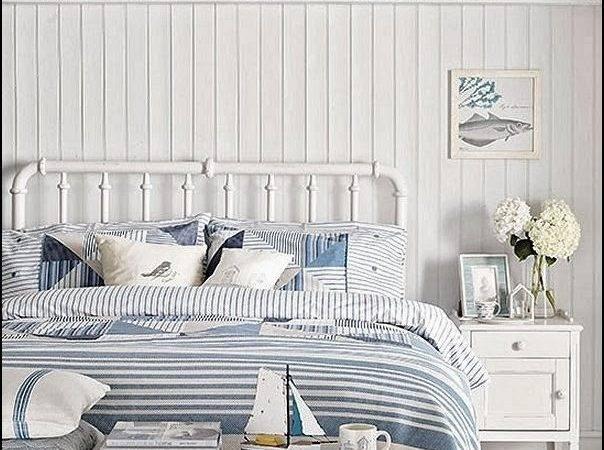 Coastal Inspiration Cottage Bedrooms
