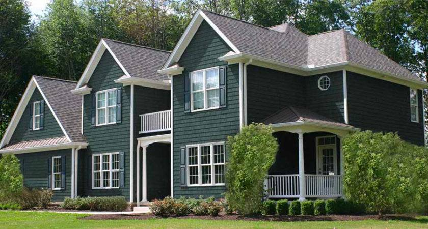 Coastal Sage Cedar Vinyl Shake Siding Factory Direct