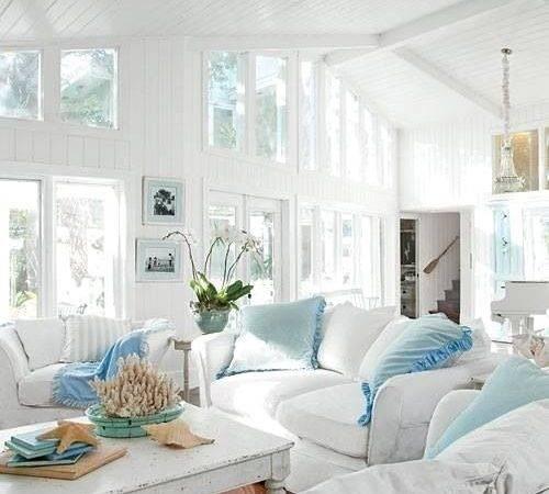 Coastal Style Shabby Chic Beach Cottage