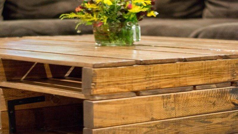 Coffee Tables Made Out Pallets Pallet Ideas Recycled