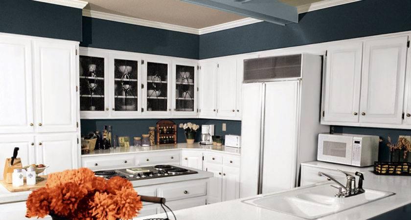 Colorful Kitchen Interiors Room Scenes