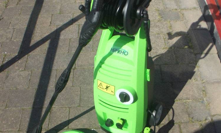Compact Mobile Home Pressure Washer Very Powerful Jet Wash