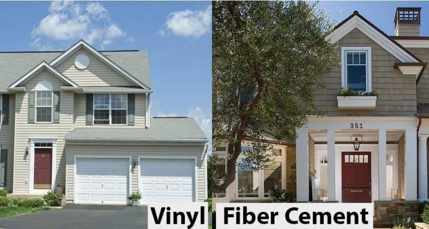 Comparison Vinyl Siding Fiber Cement Hardie Board