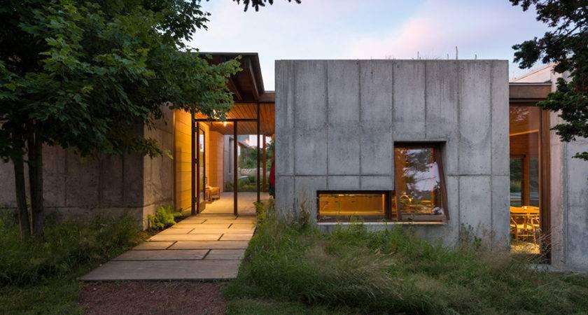 Concrete Coastal Dream House Has Trick