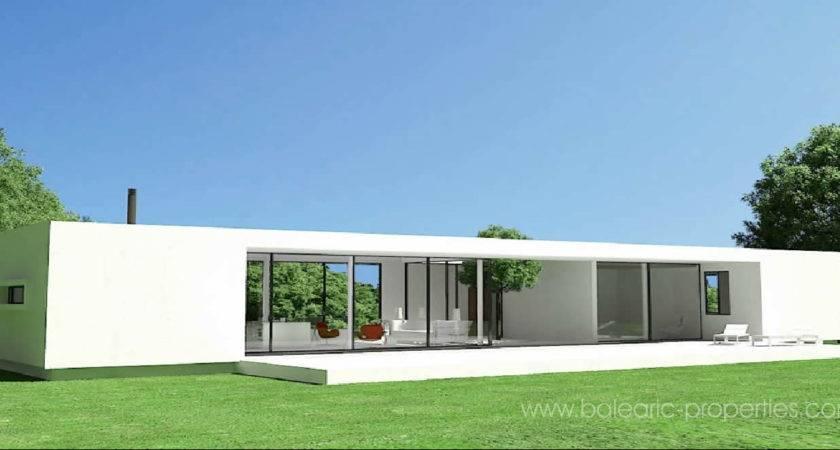 Concrete Modular Villas Mallorca New Concept