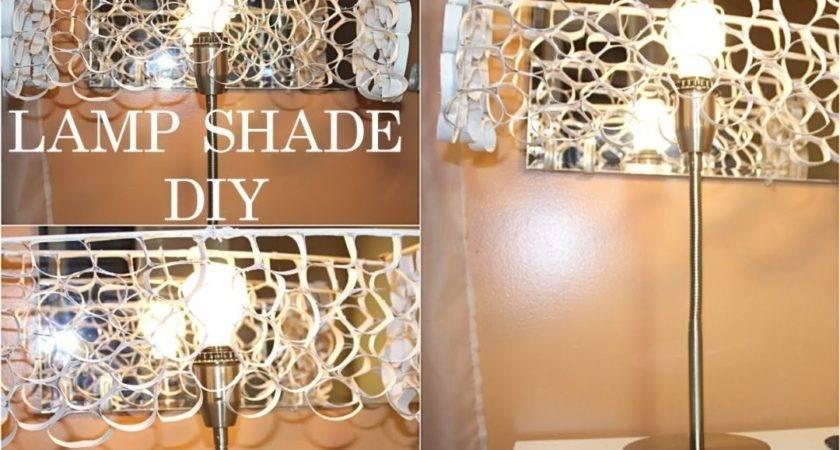 Considerable Make Rectangular Lamp Shade Frame Diy