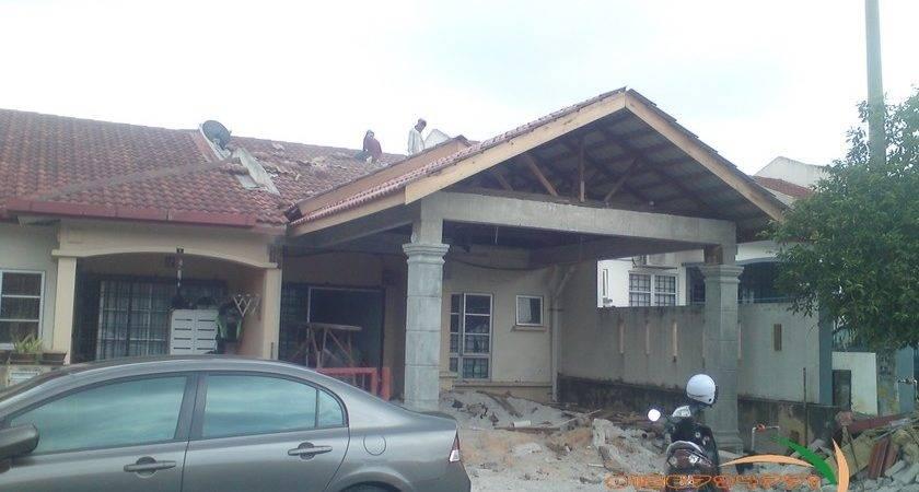 Contoh Renovate Rumah Teres End Lot Ask Home Design
