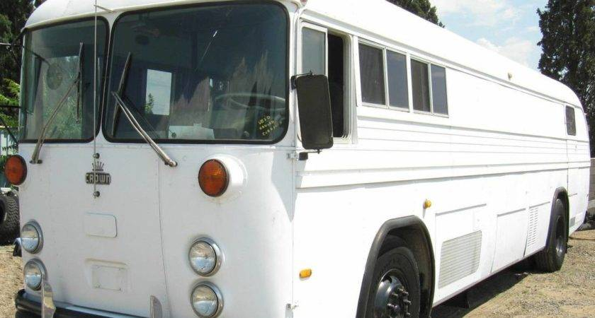 Conversion Ready Crown Coach School Bus Bring