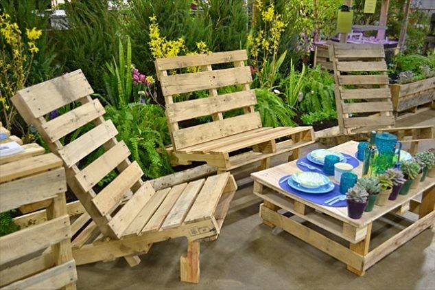 Cool Diy Outdoor Furniture Made Pallet