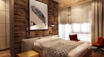 Cool Wood Accent Wall Interior Design Ideas