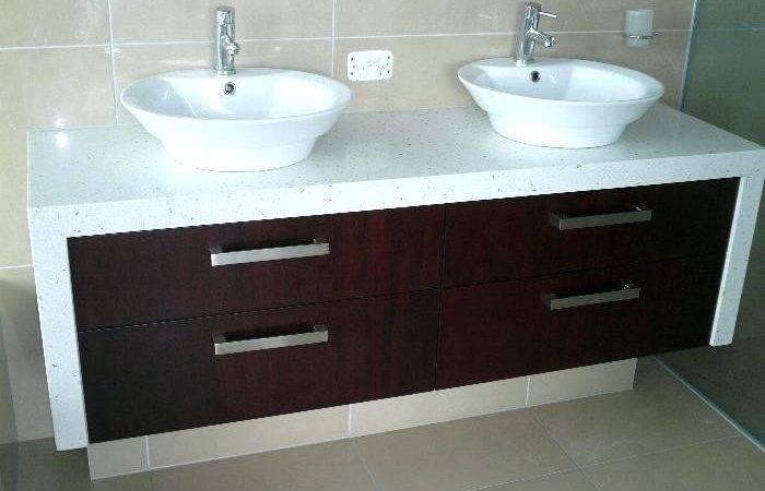 Corner Bathroom Vanities Double