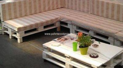 Couch Made Out Wood Pallets Pallet Projects