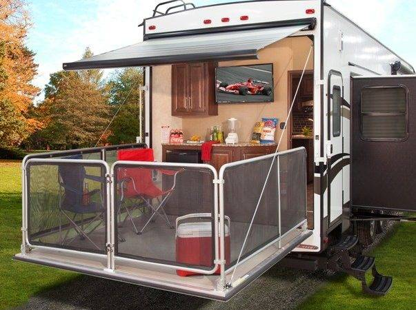 Cougar Unveils New Party Deck Fifth Wheel Daily