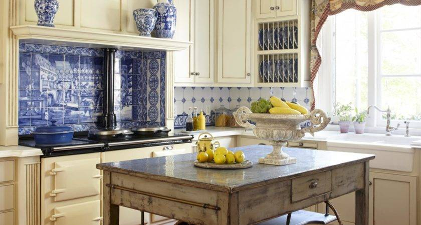 Country French Kitchen Designs Cheap