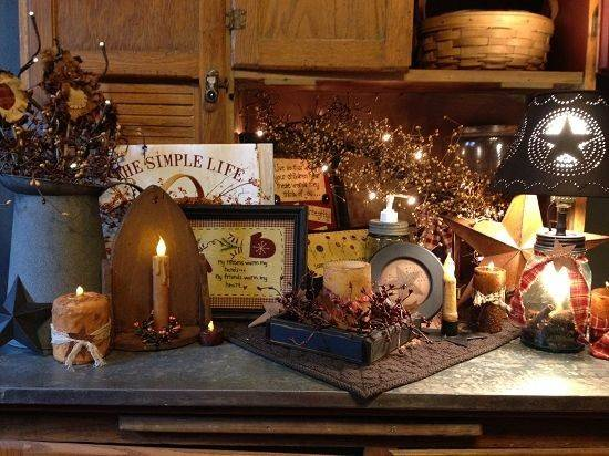 Country Home Decor Stars Rustic