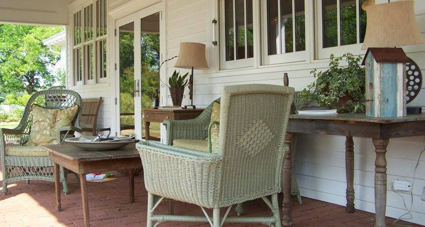 Country Porch Decorating Ideas Bistrodre
