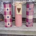 Country Rustic Candles Americana Primitive Decor