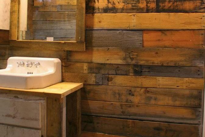 Covering Walls Pallet Wood Diyideacenter