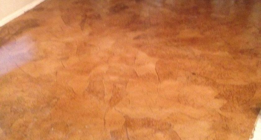 Craft Paper Flooring Grocery Bag