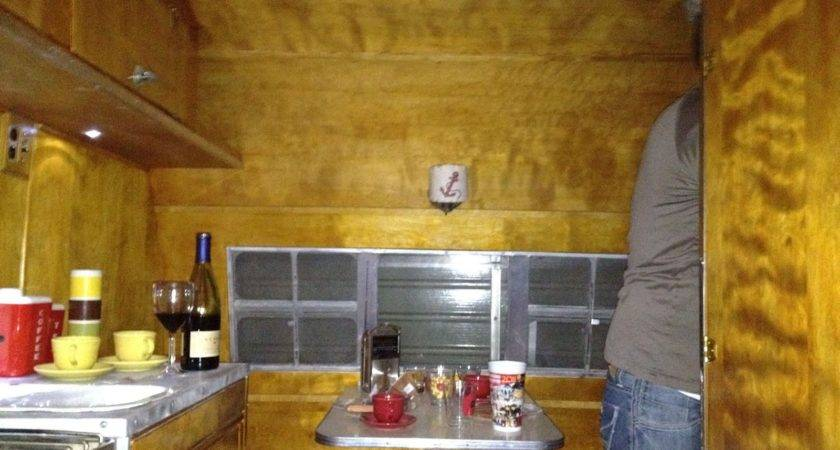 Crown Canned Ham Nightime Interior