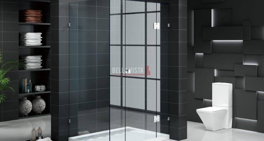 Custom Fully Frameless Shower Screens
