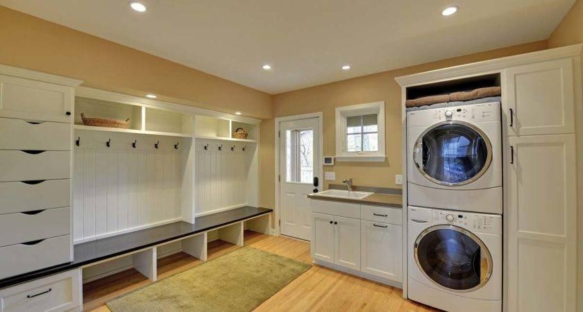 Custom Laundry Room Cabinets Mudroom Built Ins