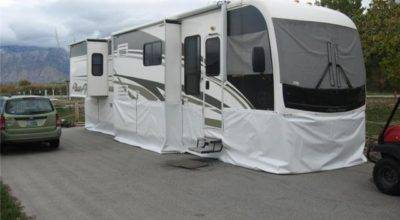 Custom Skirting Trailers Canvas Unlimited