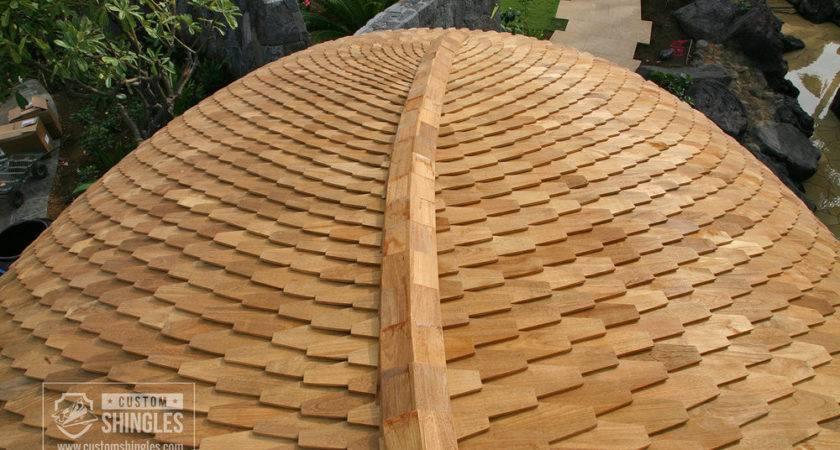 Custom Wood Shingles Shakes