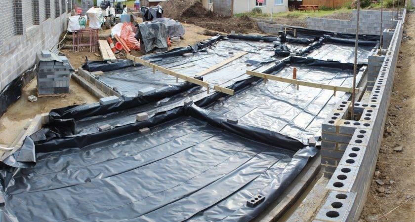 Damp Proof Membrane Phase Slab Construction Self
