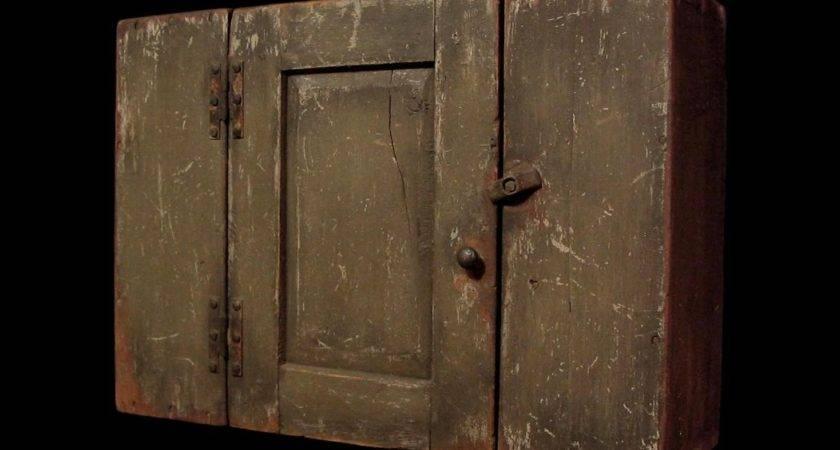 Daryl Mcmahon Primitive Wall Cupboard