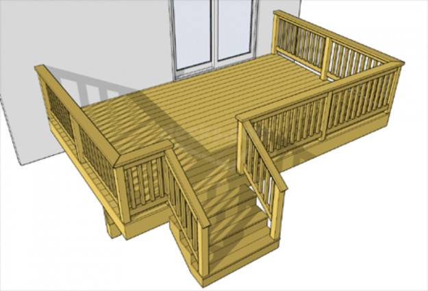 Deck Building Plans Designed Your House