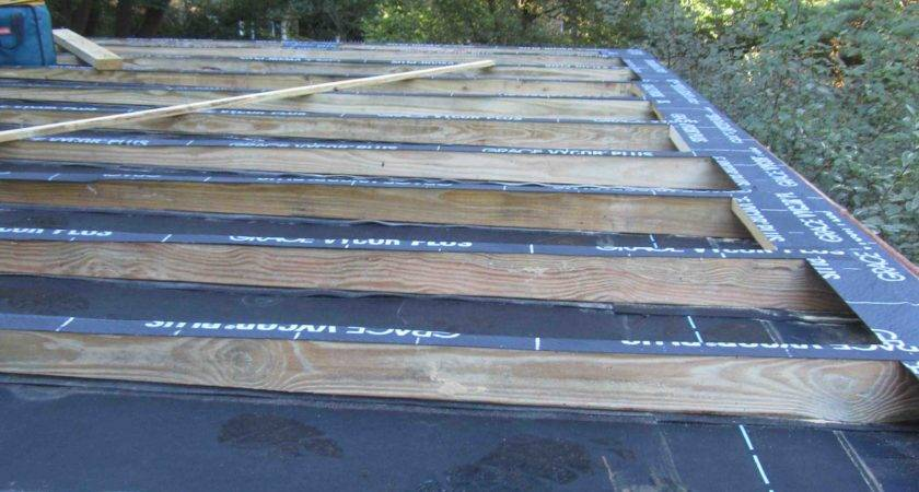 Deck Building Roof Rooftop Pitched