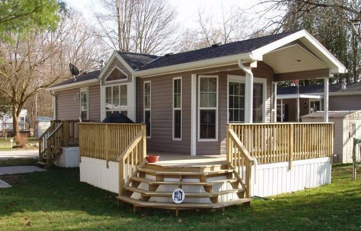 Deck Plans Mobile Home Completely