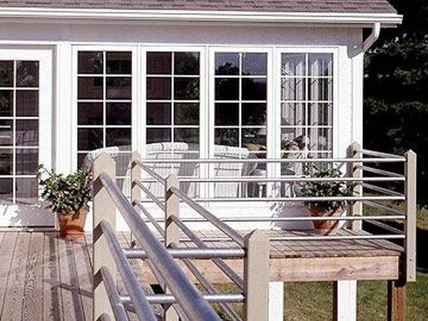 Deck Railing Cheap Ideas Joy Studio Design