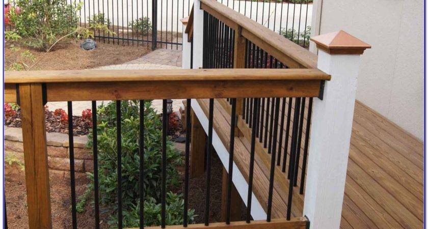 Deck Railing Designs Decks Home Decorating