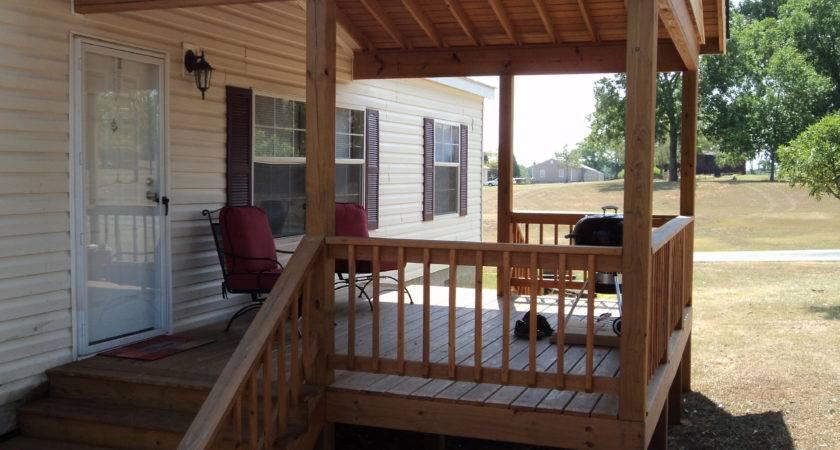 Deck Vaulted Roof Milledgeville Home Maintenance