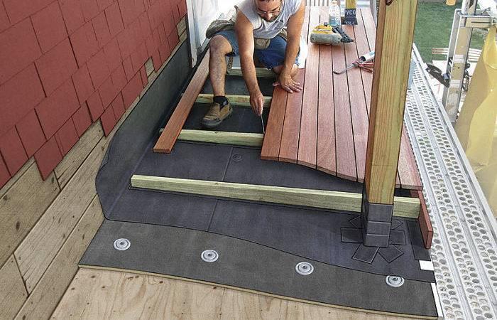 Decking Over Roof Fine Homebuilding