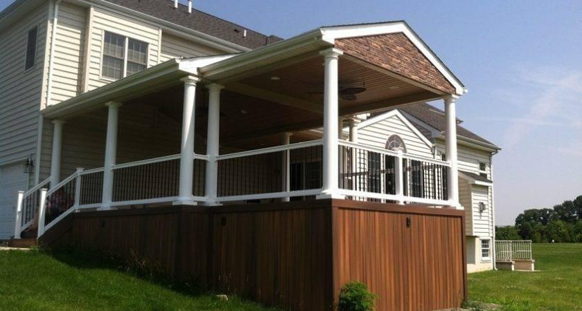 Decks Build Roof Over Deck