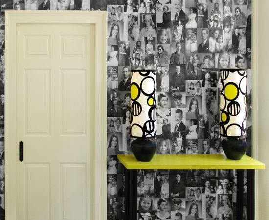 Decoupage Walls Home Design Ideas Remodel Decor