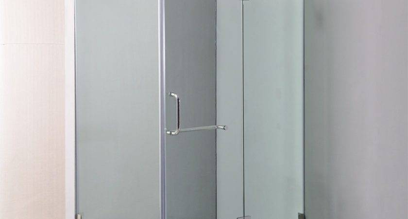 Della Francesca Frameless Square Shower Screen